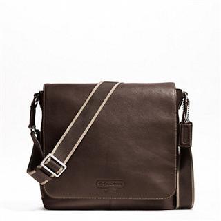 美国直邮:正品寇驰男士真皮包 Coach Men's Leather Bag F70555