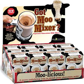【白领最爱】Moo Mixer Supreme电动搅拌杯 适合咖啡 牛奶 美禄