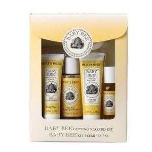 美国直邮 Burt's Bees小蜜蜂婴儿洗护保养入门套装