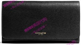 美国代购 COACH/蔻驰50155 长款钱包